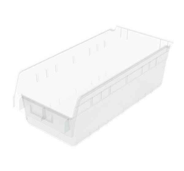 ShelfMax 6&quot Clear Bins