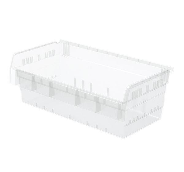 ShelfMax 8&quot Clear Bins