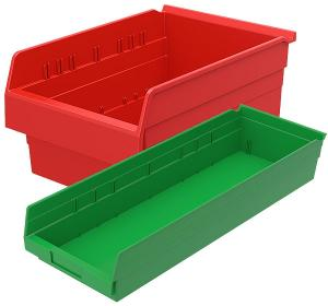 Shelf Bins (Non-Stacking)