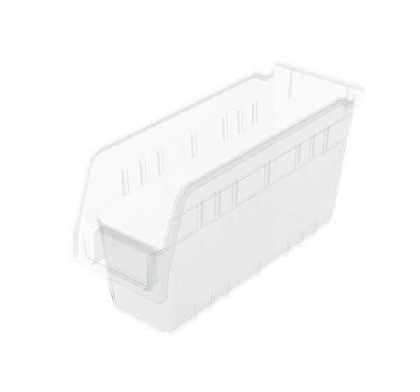 30040sclar, Shelf Bin 11-5/8 x 4-1/8 x 6, Clear