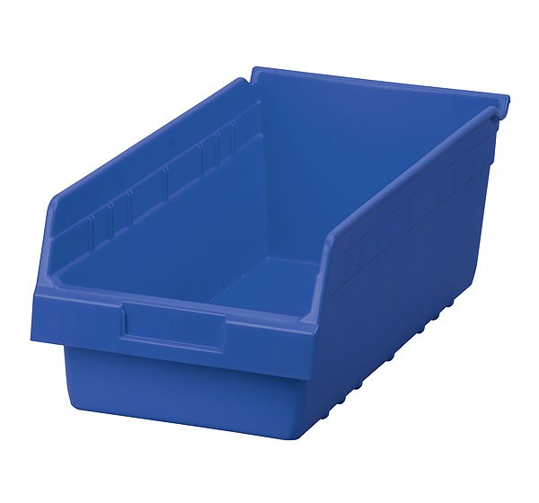 30088blue, Shelf Bin 17-7/8 x 8-3/8 x 6, Blue