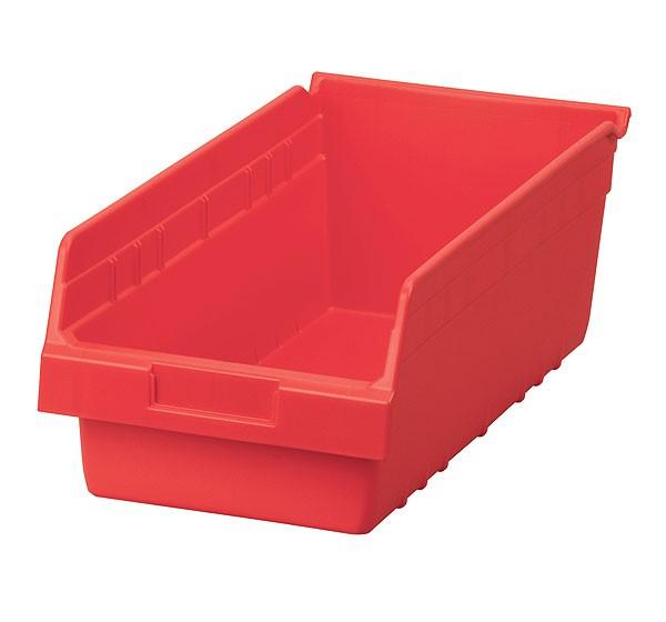 30088red, Shelf Bin 17-7/8 x 8-3/8 x 6, Red