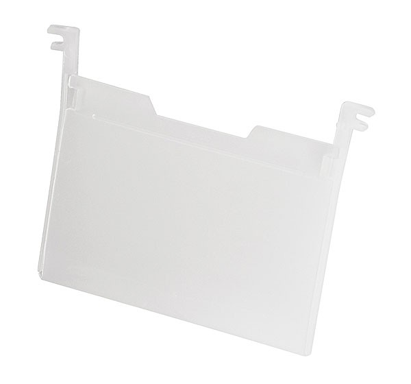 Akro-Mils Label Holder for Nest & Stack Totes - 3-3/4x5 (sold in Cartons of 6) - 35010